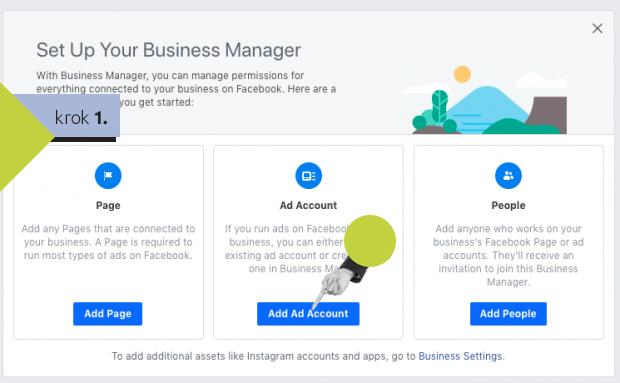 Vytvorenie business managera