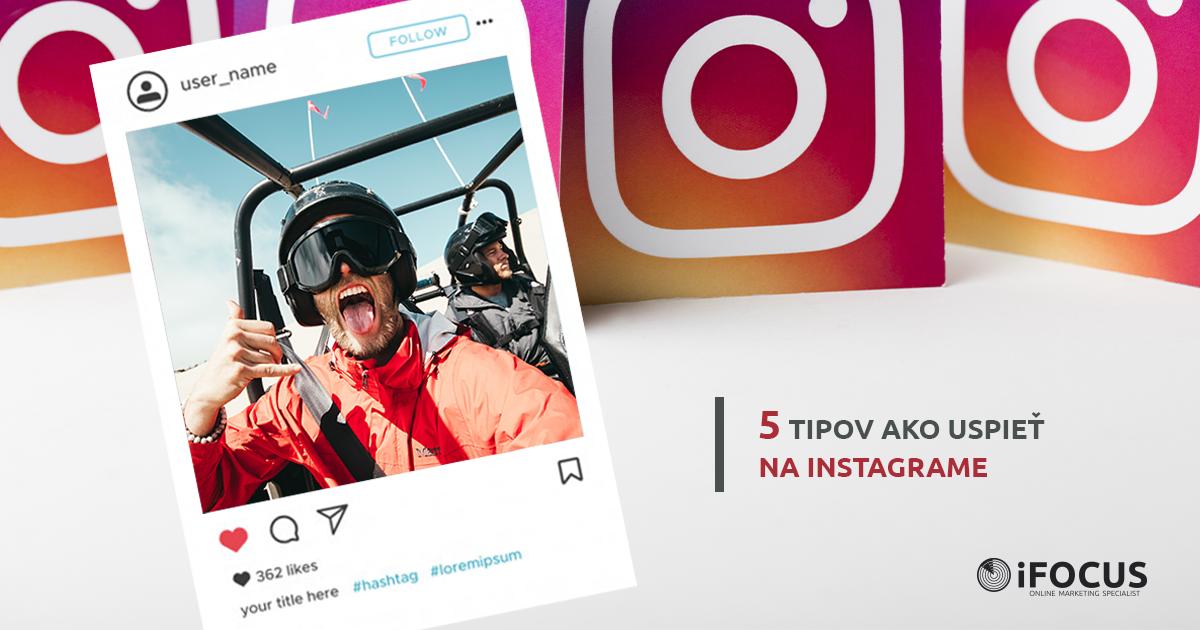 Buďte na Instagrame