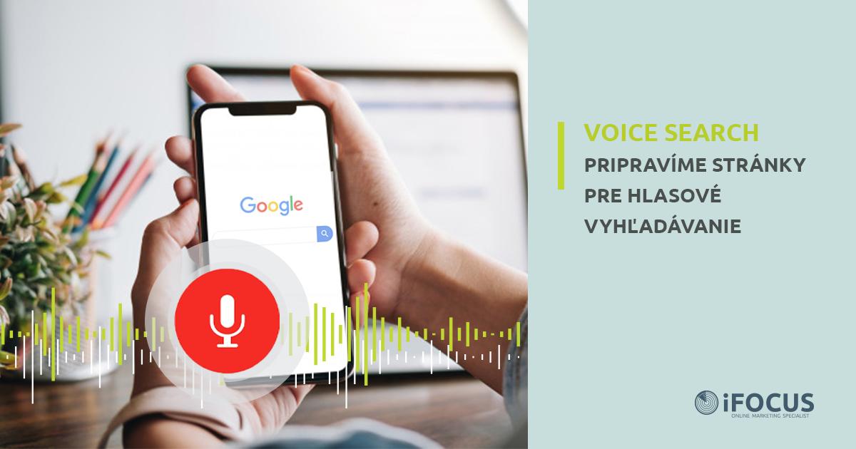 Hlasové vyhľadávanie