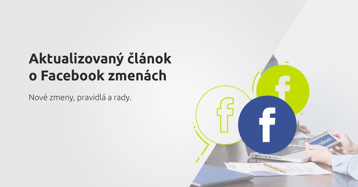 facebook zmeny