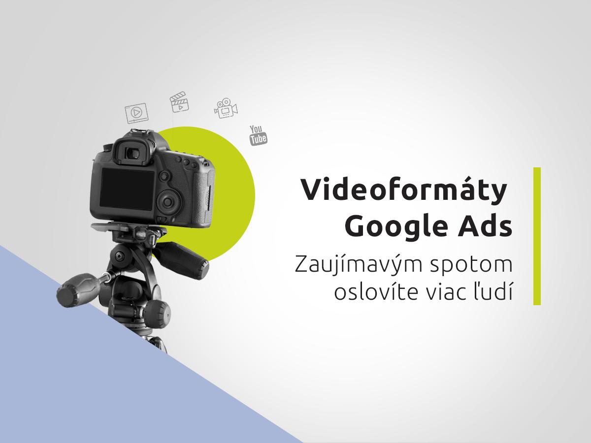 Videoformáty Google Ads