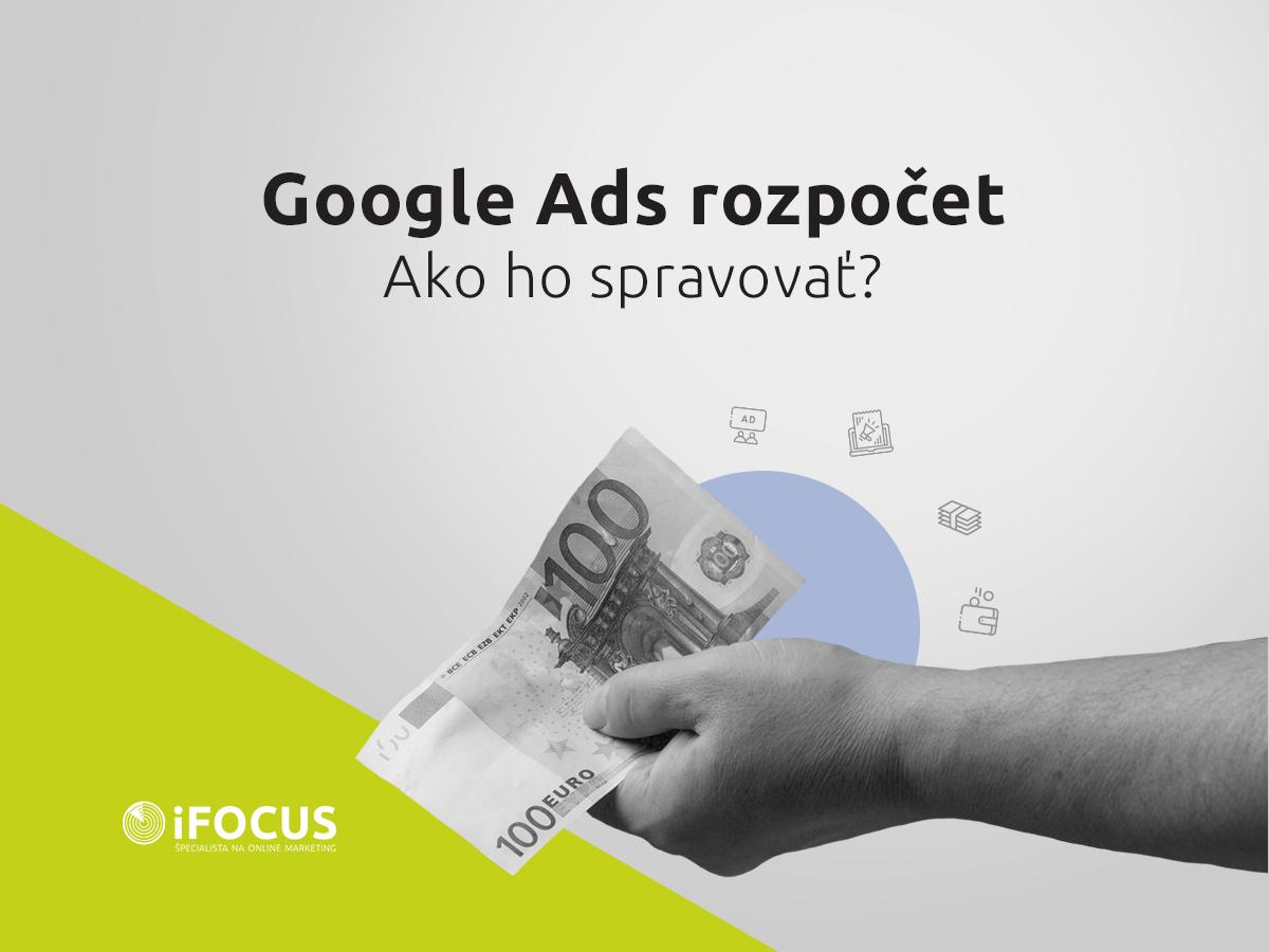 Rozpočet Google Ads