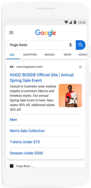 Google image extension
