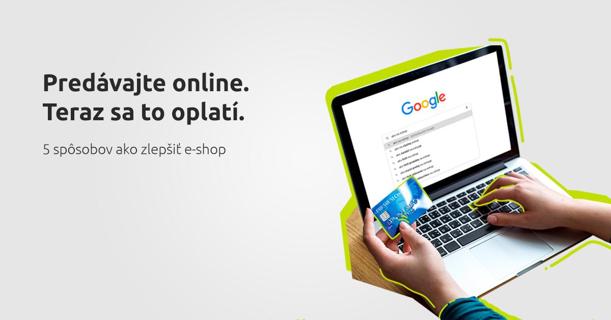 Predávajte online